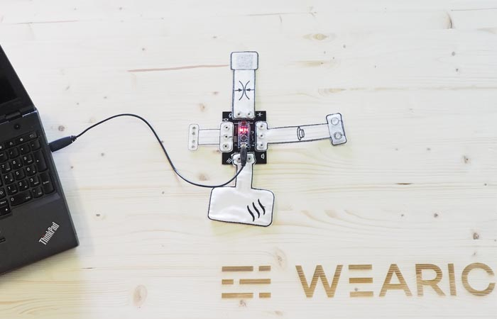 Arduino-smart-textiles