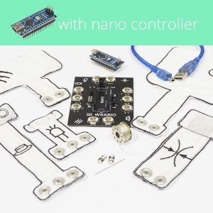 Smart Textiles Kit incl nano controller - wearic