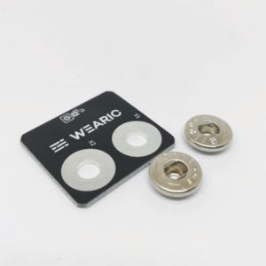 Smart Textiles - Connector 2 Buttons